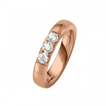 Alliance Ring 14K Rosaguld 0.45ct