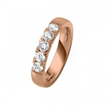 Alliance Ring 14K Rosaguld 0.75ct