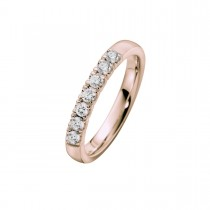 Alliance Ring 14K Rosaguld 0.42ct