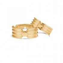 Arch Vielsesringe 14K Guld