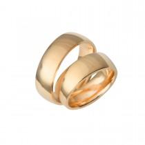 Vielsesringe 14K Guld 6,5 mm