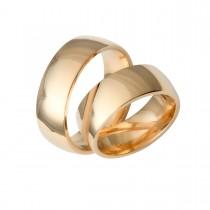Vielsesringe 14K Guld 8 mm