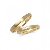 Vielsesringe 14K Guld 4 mm