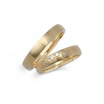 Vielsesringe 14K Guld 5 mm