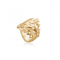 Leaves Lite Ring 14K Guld