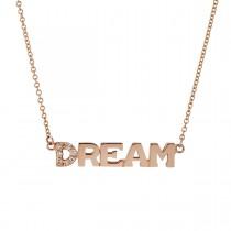 Dream Halskæde 18K Rosaguld