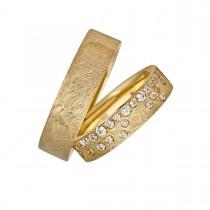 Elysium Vielsesringe 14K Guld