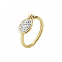 Savannah Ring 18K Guld Brillantpavé