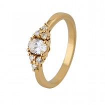 Helios Ring 14K Guld