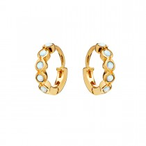 Kanya Earrings Gold Plated Silver