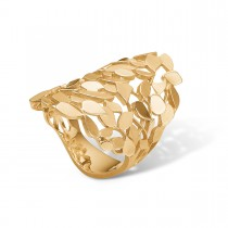 Leaves Ring 14K Guld