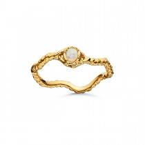 Lisa Ring Gold Plated Silver