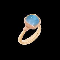 Lotus Ring Str.1 18K Guld