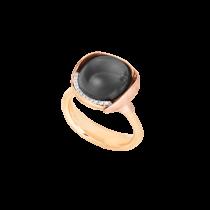 Lotus Ring Str.3 18K Guld Månesten