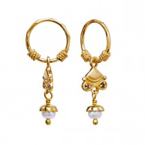 Malee Earrings Gold Plated Silver