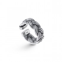Michel Ring Oxideret Sølv