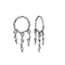 Mira Earrings Sterling Silver