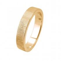 Mosaic Line Ring 14K Guld