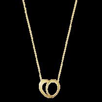 Offspring Hjerte Halskæde 18K Guld