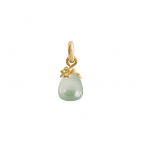 Sweet Drop Charm 18K Guld Aquamarin