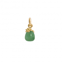 Sweet Drop Charm 18K Guld Serpentine