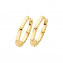 Passion Hoops Small Gold Plated