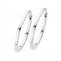 Passion Hoops Large Sterling Silver