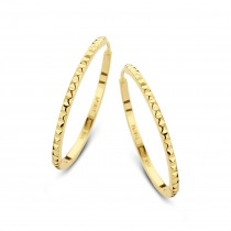 Peak Hoops Gold Plated