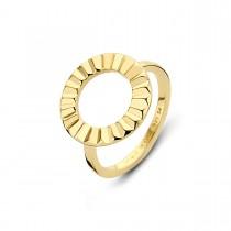 Peak Ring Forgyldt Sølv