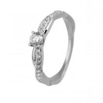 Pollux Ring 14K White Gold