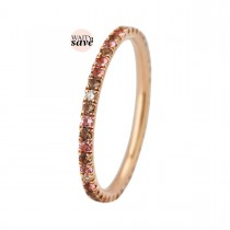 Puzzle Colours Ring 14K Rosaguld