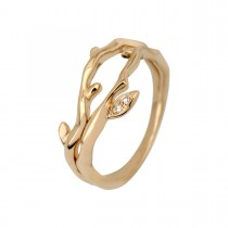 Catch Medium Ring 14K Gold