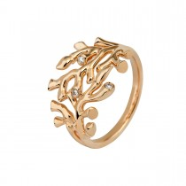 Reef Ring Small 14K Gold