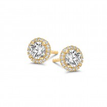 Romance Earrings Gold Plated Silver