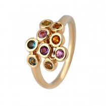 Shine Colours Ring 14K Guld