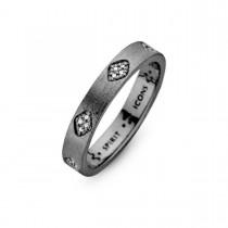 Shine Ring Ruthineret Sølv