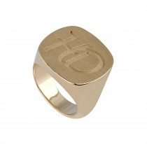 Signet Ring 14K Guld
