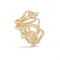 Snakes Medusa Ring 18K Guld