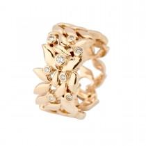 Spring Ring 14K Guld