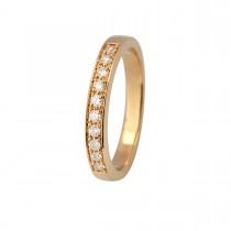 Stack Ring 14K Guld
