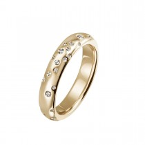 Stardust Large Ring 14K Guld
