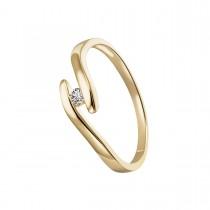 Tudor V Ring 14K Guld