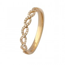 Twisted Ring 14K Guld
