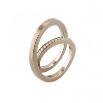 Up & Down Ring 18K Hvidguld
